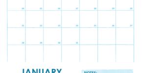 Sample Academics Calendar Template