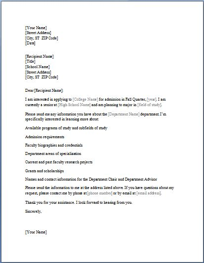 Writing A Permission Letter For A Job
