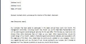 Directive Letter