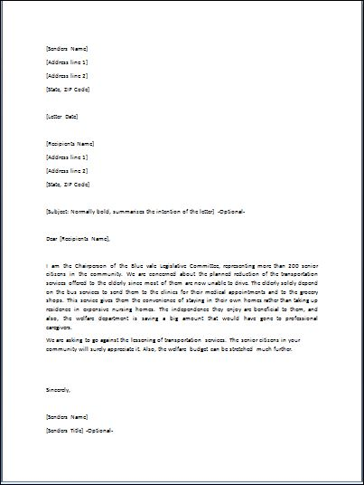 Sample Disapproval Letter Template  Formal Word Templates