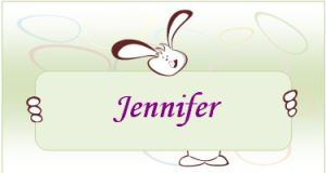 Easter Party Place Cards Template