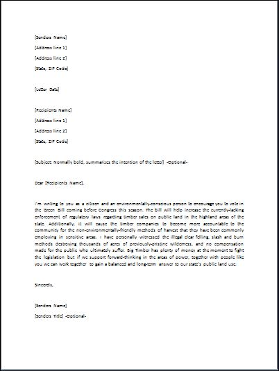 Sample government letter template formal word templates government letter spiritdancerdesigns Image collections