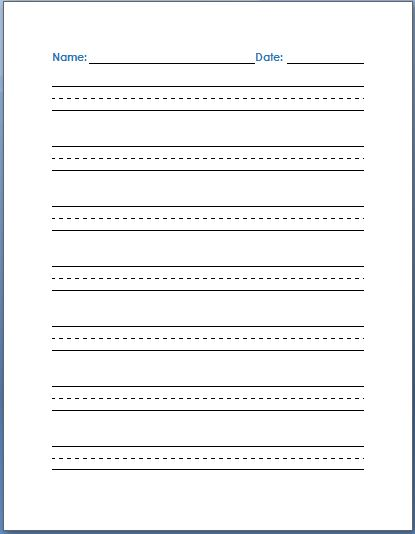 handwriting practice sentences