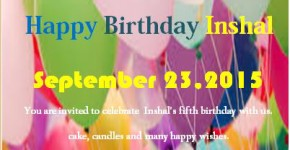 Sample Birthday Party Flyer Template
