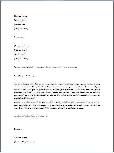 Sample Requisition Letter Template | Formal Word Templates