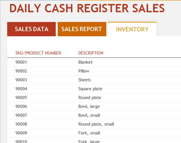 Daily Sales Report Template Excel  TvsputnikTk