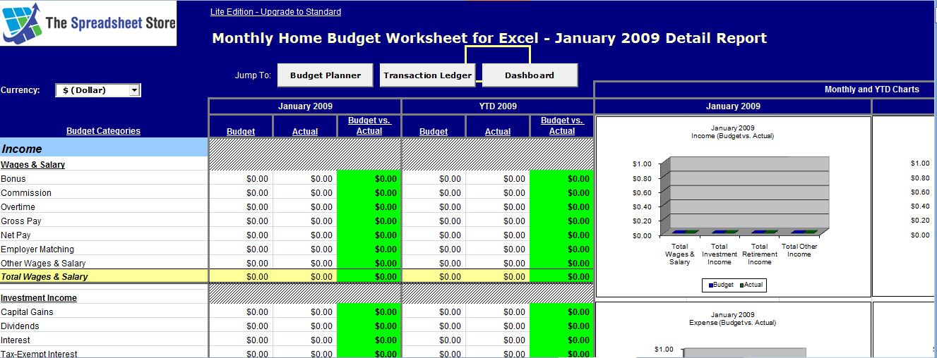 ms excel monthly home budget worksheet formal word templates