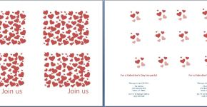 Valentine's Day Tea Party Invitation Template