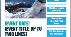 Generic Seasonal Event Flyer Template