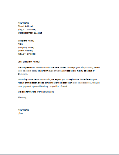 Professional Business Letter Templates – Professional Business Letters