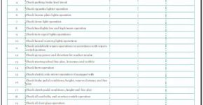 Automobile Condition Report Template