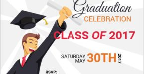 Graduation Party Invitation Cards MS Word