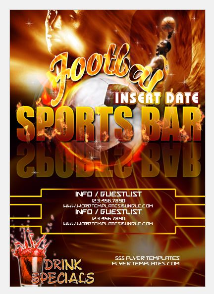 Football Club Sports Event Flyer