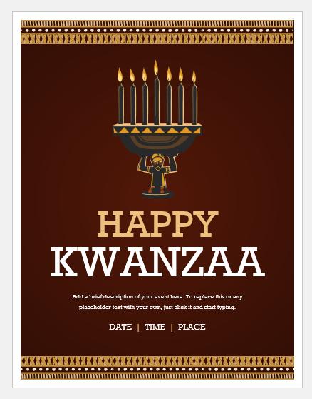 Khawanzaa flyer