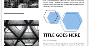Architecture Newsletter Template
