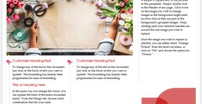 Florist Brochure Template