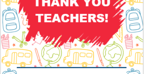 Teacher Appreciation Flyer Template